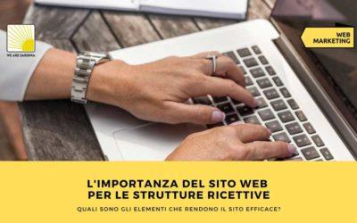 L'importanza del sito web per le strutture ricettive